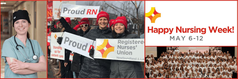 The Registered Nurses' Union Celebrates National Nursing Week 2019 and Advocates for Improved Health Care