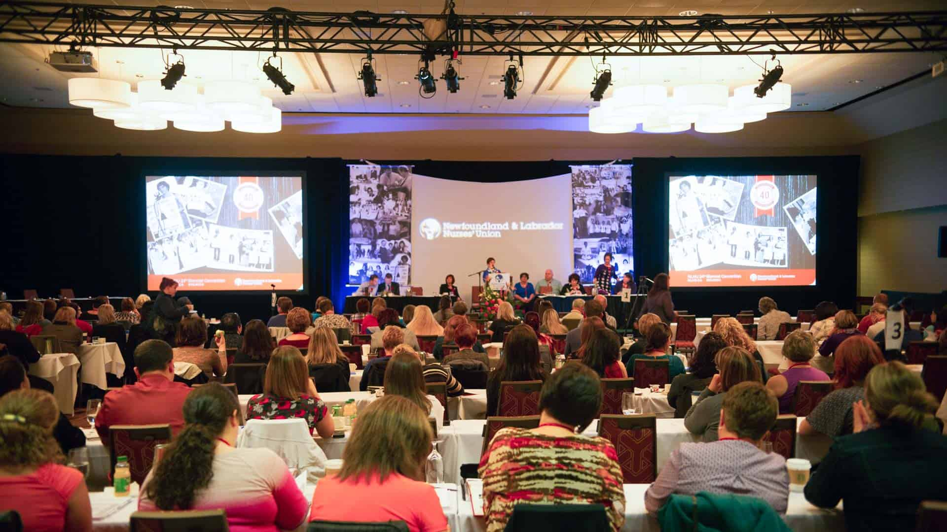 Media opportunities at the Registered Nurses' Union 25th Biennial Convention