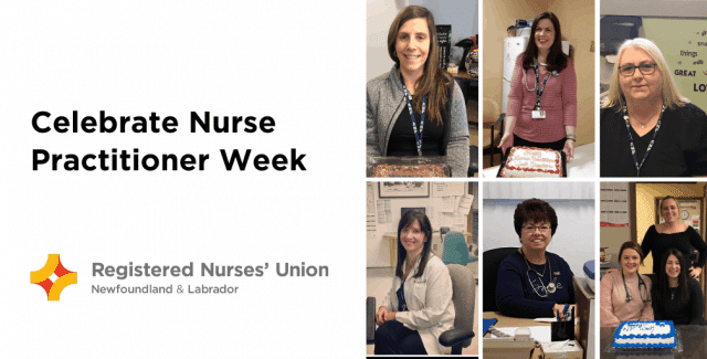 Registered Nurses' Union Recognizes Nurse Practitioner Week 2020