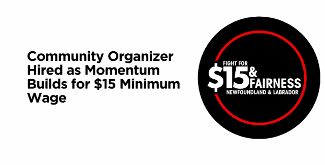 Community Organizer Hired as Momentum Builds for $15 Minimum Wage