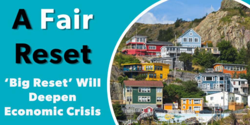 'Big Reset' Will Deepen Economic Crisis
